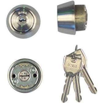 MIWA(美和ロック) U9シリンダー LSPタイプ TE22 鍵 交換 取替え MCY-136 LSP/SWLSPステンレスへヤーライン色(ST)33〜42mm