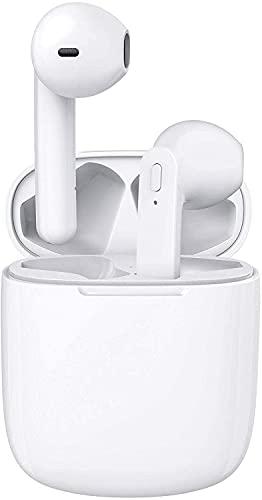Auriculares Inalámbricos,Auriculares Bluetooth,Tiempo de Reproducción de 30 Horas,Auriculares inalámbricos Bluetooth con Control Tactil,Micrófono Incorporado, IPX5, para Xiaomi Samsung iPhone Huawei