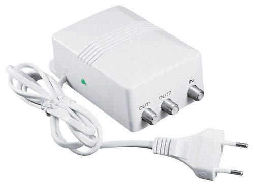 takestop Amplificatore Da interno Per Antenna Tv Regolazione VHF/UHF (ZDA-0612)