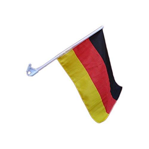 UC-Express Fussball WM 2018 Russland Fanartikel Deutschland Autofahne Fahne Flagge Wimpel