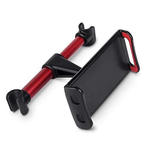 Soporte Coche Tablet Soporte Tablet Coche Reposacabezas del soporte de la tableta del coche Tv de coche para niños Tablet resto Red,A