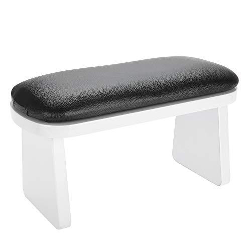 Cuscino per le mani, cuscino in spugna morbida per nail art per uso tecnico da tavolo per unghie(nero)
