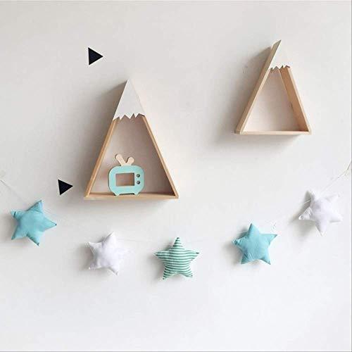 BDWS Dreamcatcher Nordic Wind Chimes babykamer handgemaakte kwekerij ster slingers Kerstmis Kids kamer muur decoraties Dreamcatcher rekwisieten beste geschenken