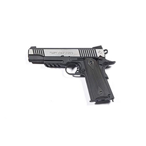 C Y B E R G U N Pistola Colt 1911 Scarrellante Black/Silver Cybergun (180525) 0.9 Joule