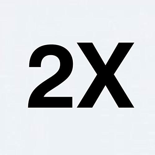 TBOC 2X Funda de Gel TPU Transparente para ZTE Blade A7 - ZTE Blade A7 2019 [6.09 Pulgadas] [Pack: Dos Unidades] Carcasa Silicona Ultrafina Flexible Móvil