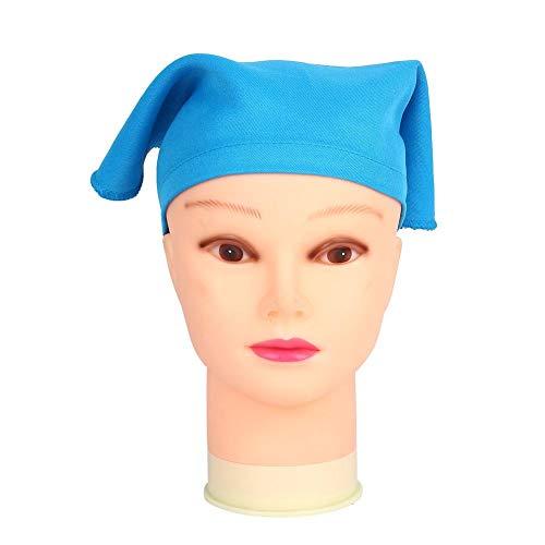 Jeffergarden Kinder Kochmütze Kinder Malen Zeichnen Hut Tragbares Stirnband Backen Kochen Zubehör Kleidung Unisex für Innen(Blau)