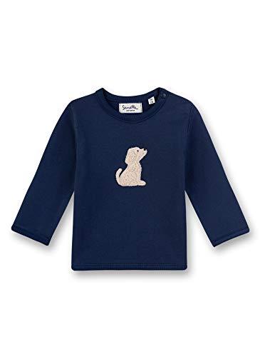 Sanetta Unisex Baby Sweatshirt, Blau (blau 5993), 92 (Herstellergröße:092)