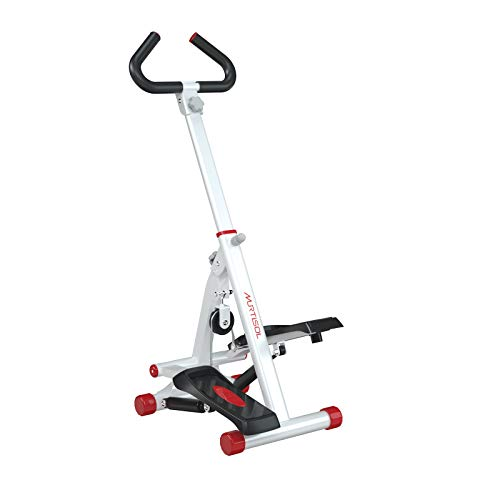 Murtisol Adjustable Stepper Step Machine for Exercise Stair Stepping Machine for Home Use,W/Handle Bar, LCD Monitor, 5 Levels Adjustable Height, 220lbs Weight Capacity