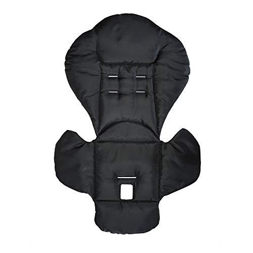 Aveanit Peg Perego Prima Pappa Diner - Funda de repuesto para silla de bebé, resistente al agua, color negro