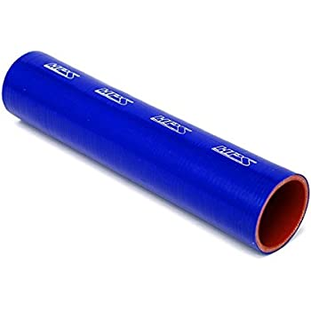 ST3F-81227-HOT Orange 3/' Length 500F Max 25 Psi Max Ultra High Temp 4-Ply Reinforced 3 Length Silicone Coupler Tube Hose HPS 2.5 ID Temperature Silicone Pressure
