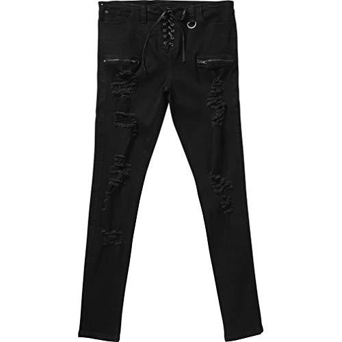 Killstar Denim Jeans Hose - Diablo (XL)