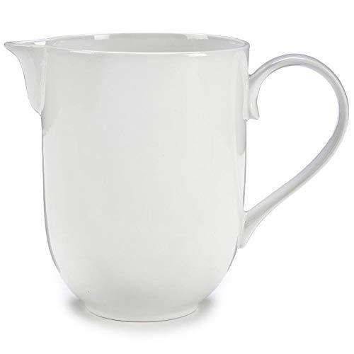 Milchkanne aus Porzellan 1000 ml Milchkrug Milchkaraffe Karaffe Krug Porzellan - Milchkännchen - Sahnekännchen
