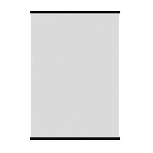 2 Stecche Nere per Poster 100 cm + 2 Ganci