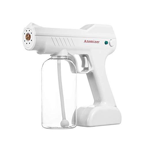 Portátil inalámbrico eléctrico 1300W nebulizador 800 ml de Alcohol desinfectante Multifuncional pulverizador ULV práctico electrostática Niebla Spray Automático Nano Pistola