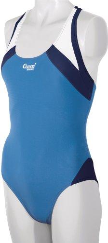 Cressi Swim Damen Badeanzug Paros, Blau Royal, XXS