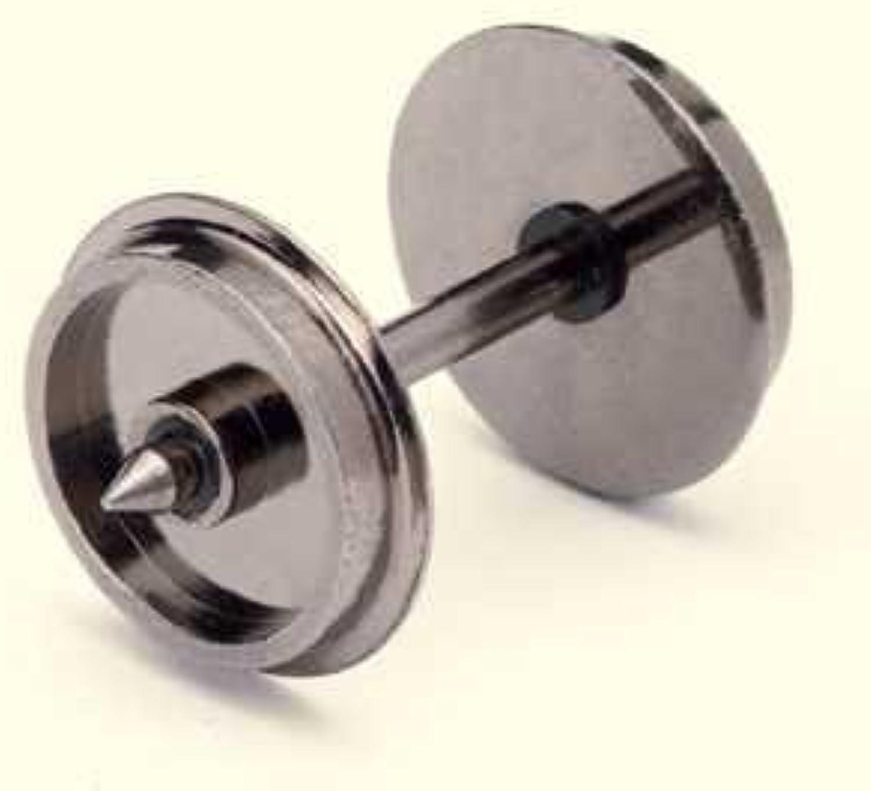 punto de venta barato Hornby R8096 10 Set Disc Wheels  Axles 00 00 00 Gauge Wheels & Couplings Accessory by Hornby  descuento de ventas en línea