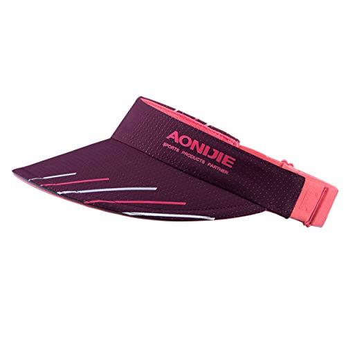 TRIWONDER Unisex Kappe Schirmmütze Sonnenhut Baseball Cap Mütze für Damen, Herren, Tennis, Running, Golf (Rose Rot - 2)