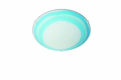 Massive 301733510 Trudy Plafonnier 60 W E27 230 V Bleu