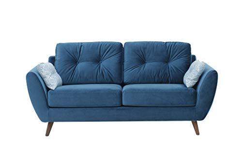 Amazon Marke -Movian Snuggler, Fabric, Blue, Modern