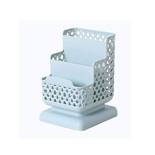 ZYING 3 de múltiples Funciones Creativa de cuadrícula de Escritorio Caja de Almacenamiento, cosmética Caja de Almacenamiento, Escritorio Estante (Color : C)