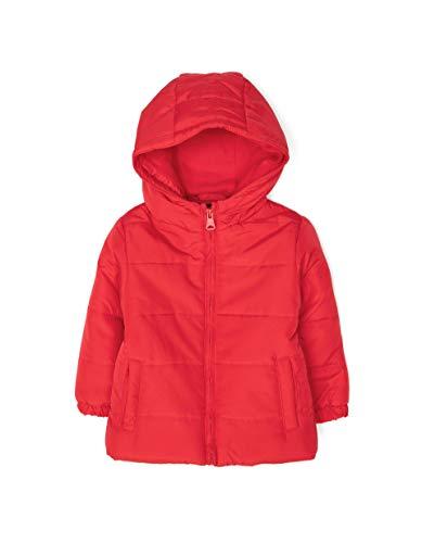 ZIPPY Chaqueta Acolchada Chin, Rojo (Chinese Red/18/1663 TC 607), 80 (Tamaño del Fabricante:12/18M) para Bebés