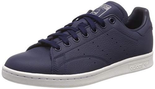 adidas Herren Stan Smith Gymnastikschuhe, Blau (Collegiate Navy/Crystal White/Grey Three F17), 43 1/3 EU