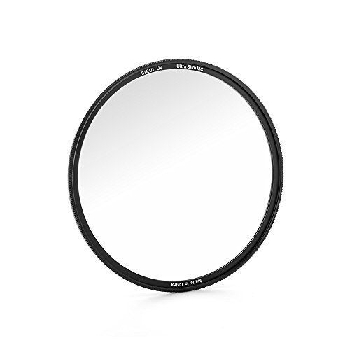 Sirui uv40.5Ultra Slim S de Pro Nano MC Filtro UV 40,5mm (Multicapa, Cristal Schott) Negro