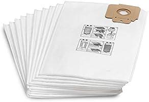 Karcher Filter bag fleece, Set of 10 Pieces