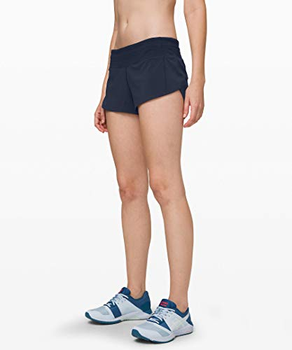 Lululemon Run Speed Up Short (True Navy, 2)