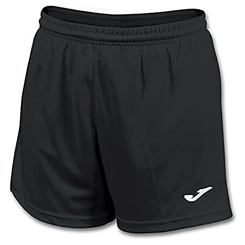 Joma Paris II Pantalones Cortos Deportivos, Mujer, Negro (100), L