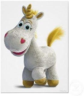 "Toy Story Hard to Find Disney Toy Story 3 Buttercup Unicorn Pony 9"" Plush Doll Mint"