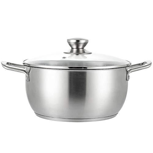 ZIXERN SuppentopfDicker Suppentopf Aus Edelstahl Mit Großer KapazitätGeeignet Für Hausmannskost