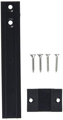 SECOTEC Schleppscharnier für Kühlschrank | 150 mm | für Barkühlschrank | Kunststoff schwarz