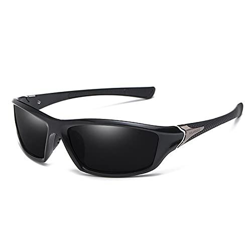 Gafas De Sol Nuevas Gafas De Sol De Lujo para Hombre, Polarizadas Uv400, Gafas De Conductor, Gafas De Sol Clásicas para Hombre, Gafas Clásicas con Estuche