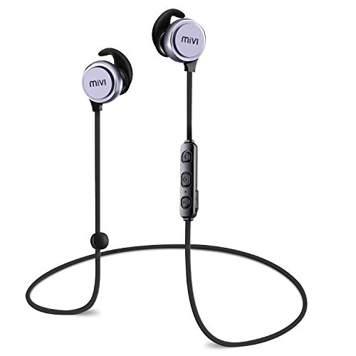 Mivi ThunderBeats Wireless Bluetooth Earphones with Mic - Gun Metal