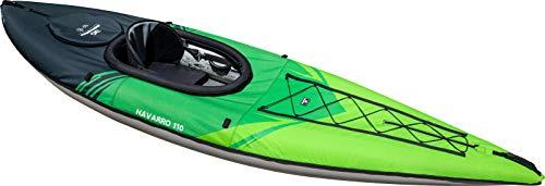 AQUAGLIDE Navarro 110 Convertible Inflatable Kayak with Drop Stitch Floor