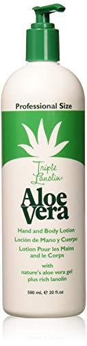 Triple Lanolin Aloe Vera Lotion 20 oz.
