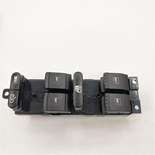 KUANGQIANWEI Interruptor de Elevador de Vidrio automotriz, Interruptor de Control de la Ventana del automóvil Ajuste para VW Jetta Fit for Golf GTI MK4 Fit para Passat B5 Side 3bd959857 / 1J4 959 857