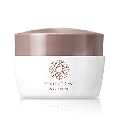 PERFECT ONE Moisturizing Gel for Face, All in One Hydrator Gel with Collagens and 50 Moisturizing Ingredients, Reduce Fine Lines, Made in Japan - 75g