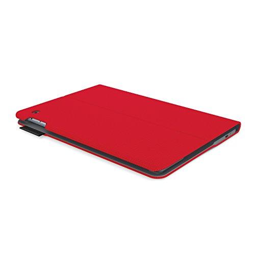『LOGICOOL キーボード⼀体型保護ケース for iPad Air 2 レッド iK1051RD』の1枚目の画像