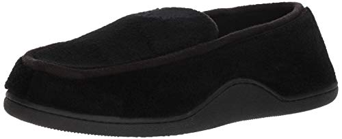 Totes Isotoner Männer Microterry Memory Foam Indoor/Outdoor Slip-On Hausschuhe