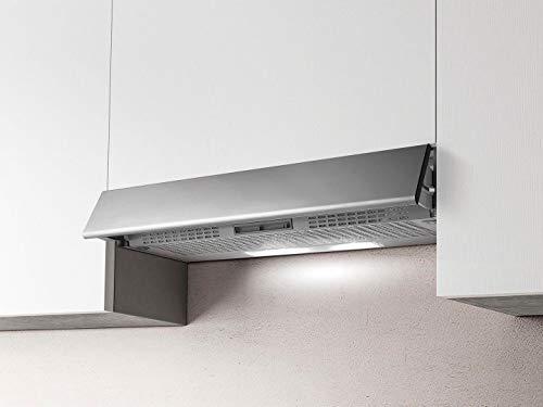 Cappa Cucina Filtrante, Installazione Sottopensile da 90 cm Silver GR/F/90 Estraibile STD
