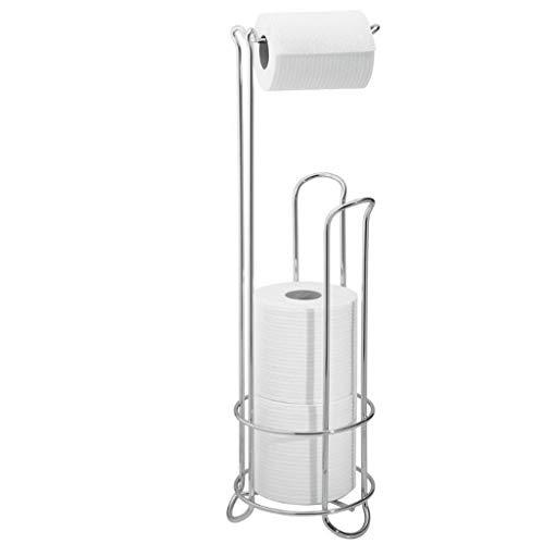 yaya Toiletpapier Houders Metaal Staande Toiletpapier Houder Stand En Dispenser Huisraad Badkamer Toilet Tissue Papier Roll Opslag Houder Stand Toilet Roll Houder