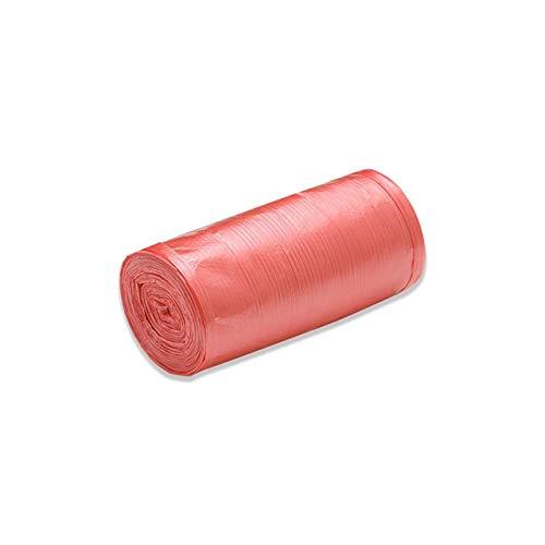 Mdsfe vuilniszakken, unieke kleur, dik, praktisch, milieuvriendelijke reiniging, afvalzakken van kunststof, kleine vuilniszak, rood A1