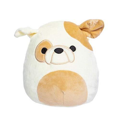 Squishmallow Kellytoy 12 Inch Brock The Bulldog- Super Soft Plush Toy Animal Pillow Pal Pillow Buddy Stuffed Animal Birthday Gift Holiday