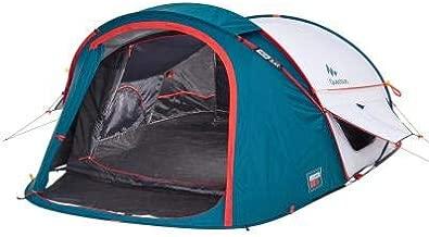 Quechua 2 Seconds XL Air III Pop Up Tent - 3 Man, Blue