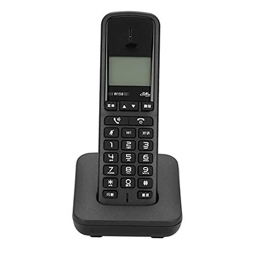 ZYING ZORE Digital inalámbrico sin Manos Libres de Mano Manos Libres telefón de Llamadas Teléfono inalámbrico Teléfono inalámbrico (Color : B)