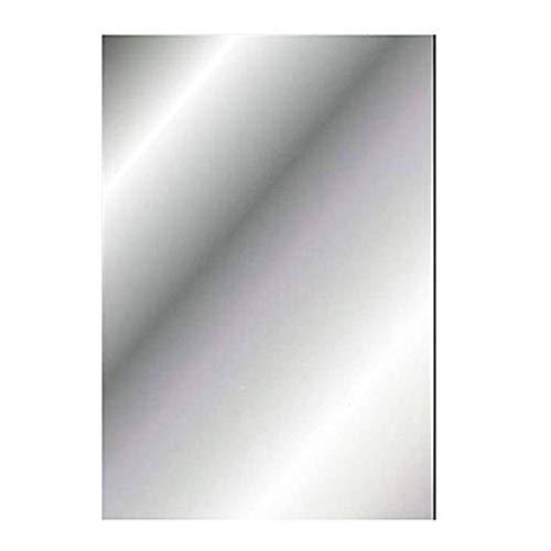 Espejos de pared de plástico autoadhesivos, hojas de espejo flexibles, suaves, no de cristal, espejo adhesivo para decoración del hogar, sala de estar, dormitorio (1 unidad)