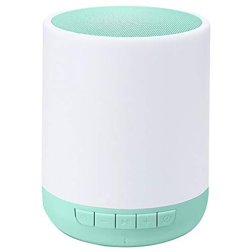 Byx- LED kleurrijke heldere Bluetooth luidspreker - draagbare Kaarten-audio-subwoofer Bluetooth 4.0 / 96X96X127mm @