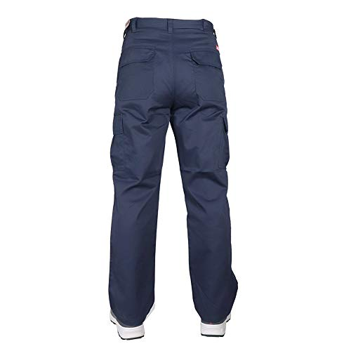 Lee Cooper Workwear Cargo Pant, 40R, marine, LCPNT205 - 8